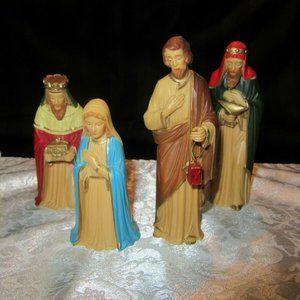 "Vintage Nativity Scene  people only  "" Hong Kong"""